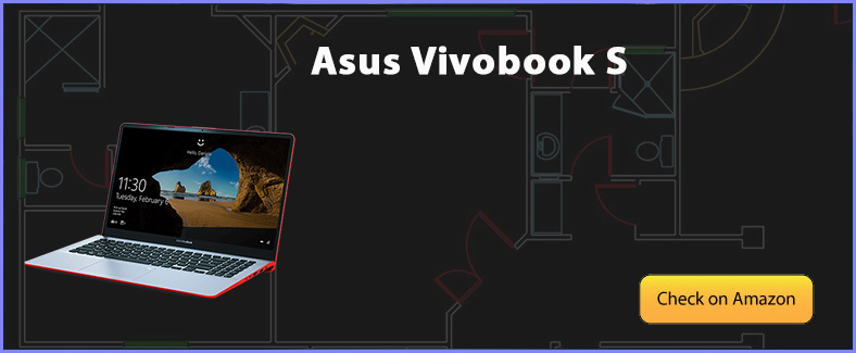 asus vivobook s for auto cad review