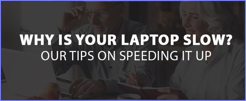 how to speed up an old laptop