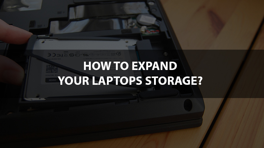 How To Buy More Storage On Laptop