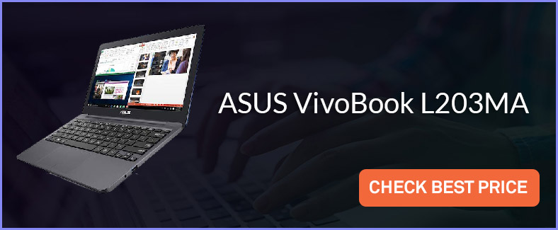 asus vivobook l203ma test and review
